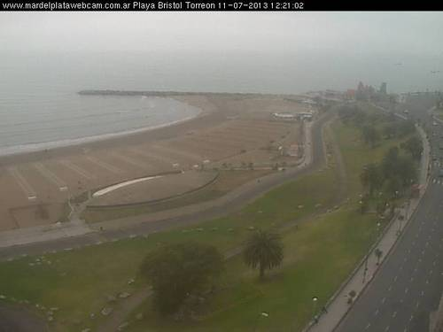Mar Del Plata webcam - Bristol Playa webcam, Buenos Aires Province, General Pueyrredon Partido