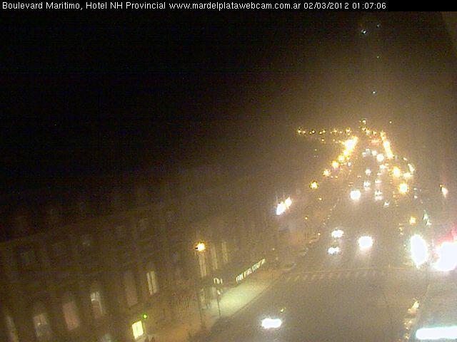 Mar Del Plata webcam - NH Hotel Provincial webcam, Buenos Aires Province, General Pueyrredon Partido